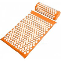 acupressure-mat-pillow-for-back-neck-body-pain-relief-orange