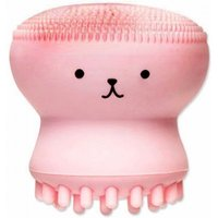 maikou-small-octopus-shape-silicone-cleaning-brush-facial-cleaning-massager-pink