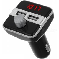 BT20B Car Bluetooth Handsfree MP3 Player FM Transmitter Kit Car Charger with Dual USB Ports