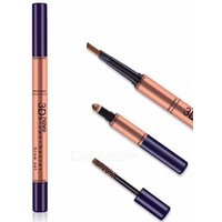 3D Mutiple Long-lasting Eyebrow Pencil 3 In 1 Liner Eye Brow Pen Makeup Waterproof Soft And Smooth Fashion Eye Make Up