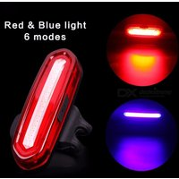 100lm Usb Rechargeable Cob Led Mountain Bike Tail Light Taillight Mtb Safety Warning Bicycle Rear Light Bicycle Lamp