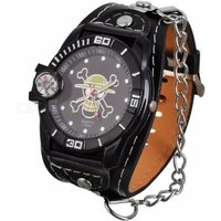 skull-head-style-leather-band-metal-dial-quartz-wrist-watch-w-compass-black-1377