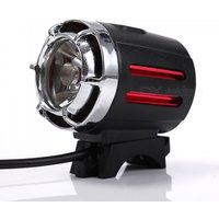 T6 Super Bright Bike Light Mountain Bicycle Usb Rechargeable Led Headlight Road Cycling Safety Flashlight Black