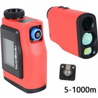 1000m Range Finder 6x25 Binoculars Golf Laser Range Distance Meter Rangefinder With Disply And Angle Measurement For Hunting Red