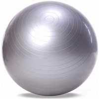 65cm Yoga Fitness Ball, Utility Anti-slip Yoga Pilates Balance Sport Fitball Slip-proof Ball For Fitness Training Light Grey