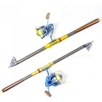 1.8m-3.6m 99 Carbon Fiber Telescopic Stream Fishing Rod Ultralight Carp Bait Casting Ice Fishing Rod High Quality Yellow