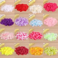 1000pcs Artificial Silk Rose Flowers Petals Party Wedding Decor Festival Romantic Rose Flower Petals Fake Petale De Rose Mariage Light White
