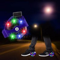 1 Pair Flashing Roller Skating Shoes Small Whirlwind Pulley Flash Wheel Roller Skates Sports Rollerskate Shoes For Kids Black