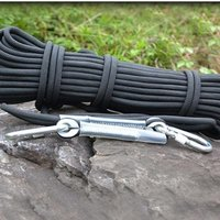 9.5mm Diameter Climbing Outdoor Climbing Rope / Safety Rope / Rock Climbing Rope Life Rope Multi Colors Optional 30m/red