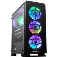 AlphaSync Gaming Desktop PC, AMD Ryzen 7 2700X, 16GB RAM, 1TB HDD, 500GB SSD M.2, NVIDIA GeForce RTX 3070, Windows 10 Home