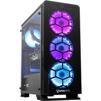 AlphaSync Gaming Desktop PC, AMD Ryzen 5 5600X 3.7GHz, 16GB RAM, 1TB HDD, 240GB SSD, NVIDIA GeForce RTX 3070, WIFI, Windows 10 Home
