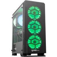 AlphaSync Gaming Desktop PC, AMD Ryzen 7 3700X, 16GB RAM, 1TB HDD, 480GB M.2 SSD, NVIDIA GeForce RTX 3070, Windows 10 Home