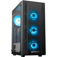 AlphaSync Gaming Desktop PC, AMD Ryzen 5 3400G, 8GB DDR4, 1TB HDD, 480GB SSD, GTX 1050Ti, WIFI, Windows 10 Home