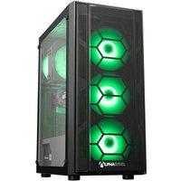 AlphaSync Gaming Desktop PC, Intel Core i5 10400F, 16GB DDR4 RAM, 1TB HDD, 240GB SSD NVMe, NVIDIA GeForce RTX 3060, WiFi, Windows 10 Home