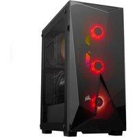 AlphaSync Gaming Desktop PC, AMD Ryzen 5 5600X, 16GB RAM, 1TB HDD, 240GB M.2 SSD, NVIDIA GeForce RTX 3060, Windows 10 Home