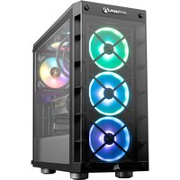 AlphaSync Gaming Desktop PC, AMD Ryzen 7 5800X 3.8GHz, 16GB RAM, 2TB HDD, 1TB SSD, AMD RX 6800XT, WiFi, Windows 10 Home