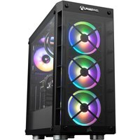 AlphaSync iCUE Gaming Desktop PC, Intel Core i7-11700KF 3.6GHz, 32GB RAM, 2TB HDD, 1TB SSD, RTX 3070, WiFi, Windows 10 Home