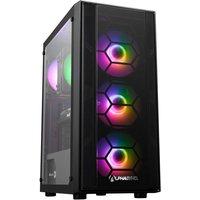 AlphaSync Gaming Desktop PC, AMD Ryzen 7 3700X 3.6GHz, 16GB RAM, 1TB HDD, 480GB M.2 SSD, AMD RX 6700XT, Win10 Home