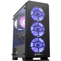 AlphaSync Gaming Desktop PC, Intel Core i5 9600K, 16GB RAM, 1TB HDD, 480GB M.2 SSD, NVIDIA GeForce RTX 3070, Windows 10 Home
