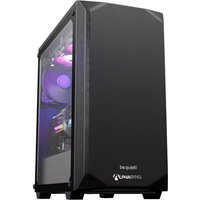 AlphaSync Gaming Desktop PC, AMD Ryzen 5 5600X 3.7GHz, 16GB RAM, 2TB HDD, 480GB SSD, ASUS ROG STRIX RTX 3060Ti, WiFi, Windows 10 Home