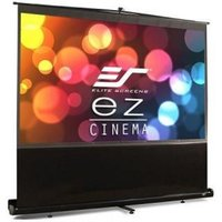 Elite F120NWV - Portable Pull Up Projection Screen