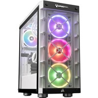 AlphaSync Gaming Desktop PC Intel Core i7-11700KF 32GB RAM 2TB HDD 1TB SSD RX 6800XT WiFi Win10 Home