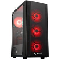 AlphaSync Gaming Desktop PC, AMD Ryzen 5 3400G PRO, 8GB RAM, 1TB HDD, 240GB SSD, GTX 1660 6GB, WiFi, Windows 10 Home