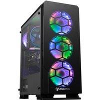 AlphaSync Gaming Desktop PC, Intel Core i5 9600K, 16GB RAM, 1TB HDD, 500GB M.2 SSD, NVIDIA GeForce RTX 3070, Windows 10 Home