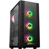 AlphaSync Gaming Desktop PC, AMD Ryzen 7 3700X 3.6GHz, 16GB RAM, 1TB HDD, 500GB SSD, NVIDIA GeForce RTX 3060Ti, Windows 10 Home