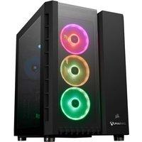 AlphaSync Gaming Desktop PC, AMD Ryzen 9 5900X 3.7GHz, 32GB RAM, 4TB HDD, 1TB SSD, NVIDIA GeForce RTX 3080, WiFi, Windows 10 Home