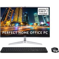 Acer Aspire C22-1650 AIO Desktop PC, Intel Core i5-1135G 2.4GHz, 8GB RAM, 1TB HDD, 128GB SSD, 21.5andquot; Full HD Non-Touch Display, WiFi 6, Windows 10 Home