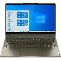 Lenovo Yoga 7i (Dark Moss) Intel Core i7-1165G7 Evo 8GB RAM 512GB SSD 14andquot; Full HD Touchscreen Windows 10 Home Convertible Laptop - 82BH000GUK