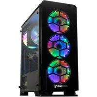 AlphaSync Gaming Desktop PC, AMD Ryzen 7 3700X 3.6GHz, 16GB RAM, 1TB M.2 SSD, NVIDIA GeForce RTX 3060Ti, Windows 10 Home