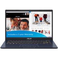 ASUS E410 Celeron N4020 4GB 64GB eMMC 14andquot; FHD Win10 Pro Laptop