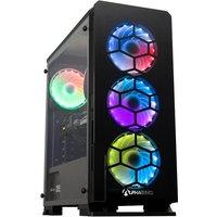 AlphaSync Gaming Desktop PC, AMD Ryzen 5 3600, 16GB RAM, 1TB HDD, 240GB M.2 SSD, NVIDIA GeForce RTX 3060, Windows 10 Home