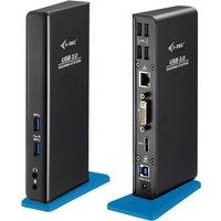 I-tec USB 3.0 Dual Laptop Docking Station HDMI DVI Universal