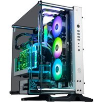 AlphaSync WaterCooled Gaming Desktop PC, Intel Core i9 11900KF 3.5GHz, 64GB RAM, 4TB HDD, 2TB SSD, Asus ROG Strix RTX 3080, WiFi, Windows 10 Home