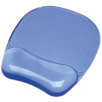 Fellowes Crystals Gel Mousepad - Blue