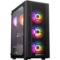 AlphaSync Gaming Desktop PC Intel Core i5 9600K 16GB RAM 1TB  HDD 500GB SSD WiFi Windows 11 Home Advanced