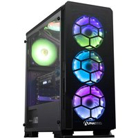 AlphaSync Gaming Desktop PC, AMD Ryzen 5 5600X 3.7GHz, 16GB RAM, 4TB HDD, 1TB SSD, RTX 3070Ti, WiFi, Windows 11 Home