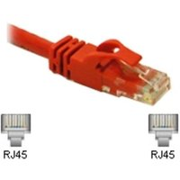 C2G, Cat6 Snagless CrossOver UTP Patch Cable Red, 3m