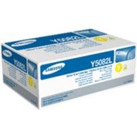 SamsungCLT-Y5082L YellowOriginal Toner Cartridge - High Yield 4000 Pages - SU532A