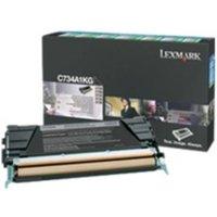 Lexmark C736H1KG High Capacity Black Toner Cartridge