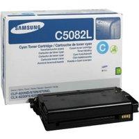 SamsungCLT-C5082L Cyan OriginalToner Cartridge - High Yield 4000 Pages - SU055A
