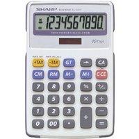 Sharp EL334FB Semi Desktop Calculator