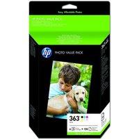 HP 363 Multi-pack OriginalInk Cartridge - Standard Yield - Q7966EE