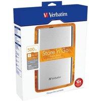 Image of Verbatim Store'n'Go 500GB USB 3.0 Portable Hard Drive