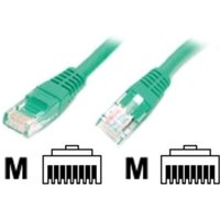 1 ft Green Molded Cat5e UTP Patch Cable