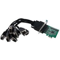 StarTech.com 8 Port Native PCI Express RS232 Serial Adapter Card with 16950 UART - 8 Port PCIe RS232 Serial Card