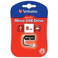 Image of Verbatim Store 'n' Go Micro 8GB USB Flash Drive